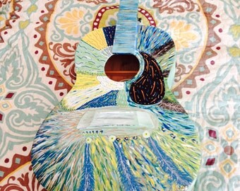 JMF Hand painted Guitars