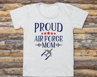 Proud Air Force Mom- Women's Tank Top, Air Force, Air Force Mom, Military Mom