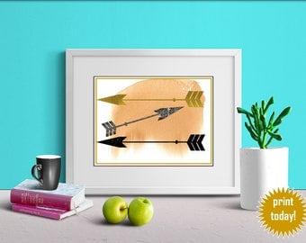 Tribal Arrow Art Print - FREE 5x7 included!