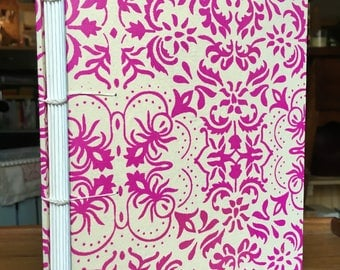 """Hand-bound Journal, Coptic binding - 6x8"""", 80 pages"""