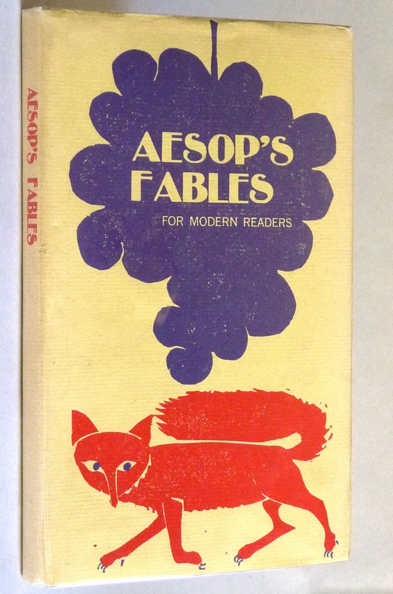 Aesop's Fables for Modern Readers 1965 Illustrated by Eric Carle