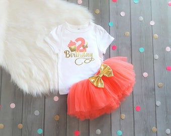 Second birthday shirt girls cupcake birthday outfit girls birthday Coral and Gold cupcake birthday birthday tee toddler birthday shirt