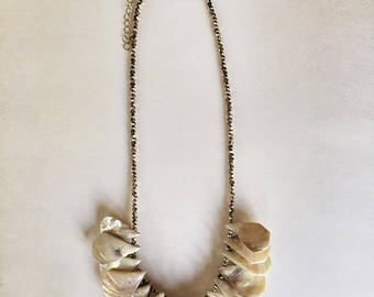 SeaLife Collection Natural Seashell Teardrop Necklace