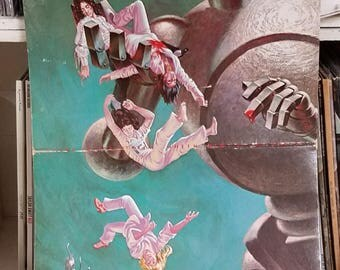 Queen News Of The World Elektra Records E-112 Gatefold Rock LP