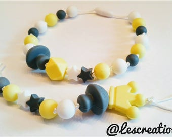Duo necklace & clip on kids