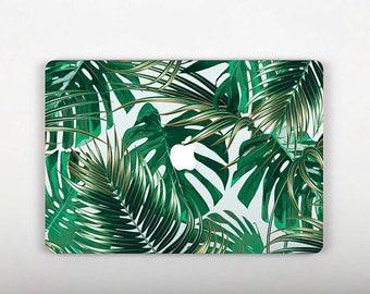 MacBook Vinyl Decal Jungle Macbook Skin Macbook Air 13 Sticker Laptop Potection Decal Leaves Apple Macbook Pro Retina 15 Stickers RS102