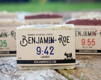 Lavender Soap - With Goats Milk