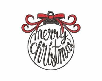 Machine Embroidery Design - Christmas Design #01