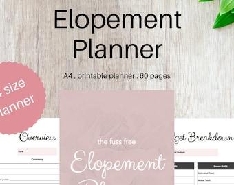 ELOPEMENT PLANNER - Mr. and Mrs. - Wedding Planner - Eloping