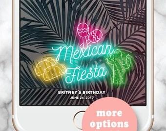 Fiesta Snapchat Filter * Snapchat Filter Birthday, Cinco de Mayo Wedding, Fiesta Geofilter, Snap Chat filter Fiesta, Snapchat Filter Wedding