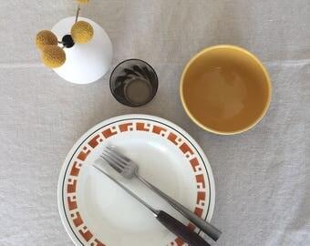 Dinner plates Vintage (set of 2)