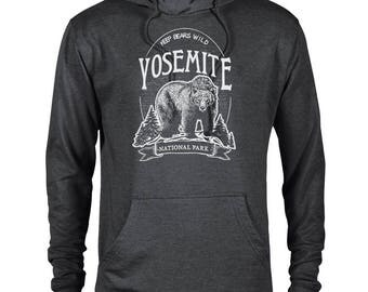 Yosemite Keep Bears Wild National Park Adventure Unisex Hoodie