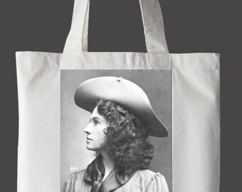 """Annie Oakley """"Nevertheless, She Persisted"""" Tote Bag"""
