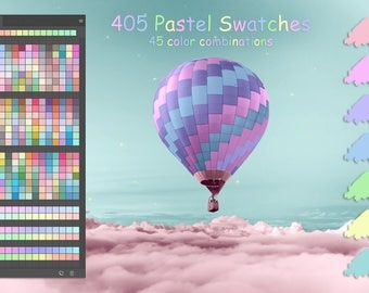 Pastel Colors Swatches