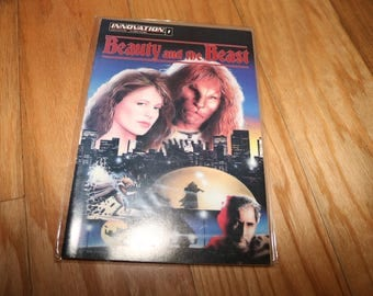 Beauty and the Beast #1 Comic Innovation 1993 Linda Hamilton Ron Pearlman Based on TV Show