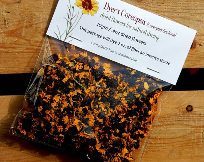 Dyer's Coreopsis dried flowers