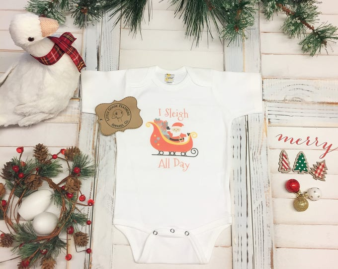 Featured listing image: Baby Christmas Pj's, 1st Christmas Outfit, Christmas Pajamas, Christmas Outfit, Boys Christmas, Girls Christmas, Funny Onesie Ideas