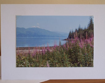 Photo Greeting Card, Photo Cards, Photo Note card, Scenic Photo Card, Scottish Photo Card, Birthday Cards