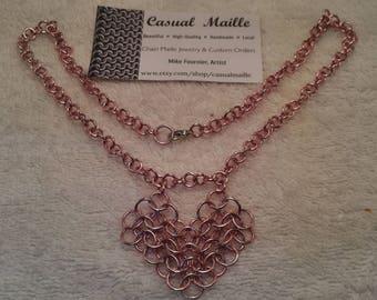 Heart Necklace (European 4:1)