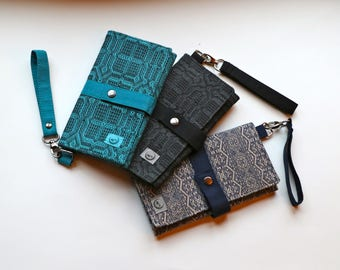 Wrap Scrap Trifold Wallet Clutch