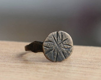 Antique ring, baby ring,antiques, ancient rings,Ancient Jewelry, antiquity, authentic,US size approx.<3, ring#29