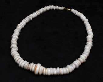 PUKA SHELL NECKLACE ~ Genuine Puka Shell Necklace ~ Puka Shell Jewelry ~ Puka Shells ~ Puka Jewelry ~ Puka Shells ~ Puka ~ Shell Necklaces