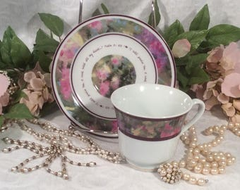 Day spring Cards Teacup and Saucer