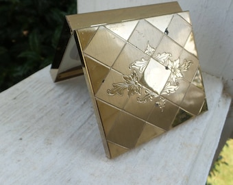 Gold Tone Compact