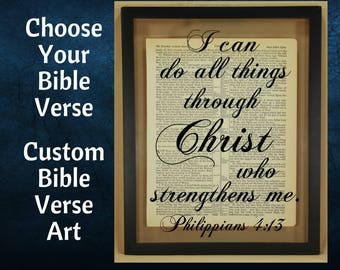 Custom Bible Verse, Bible Verse Wall Art, Scripture Wall Art, Christian Wall Art, Custom Bible Verse Sign, Custom Bible Verse Wall Art, Gift