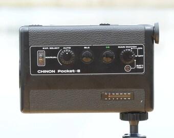 CHINON Pocket-8 Super 8 Movie Camera - Video