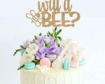 What Will It Bee Cake Topper For Gender Reveal