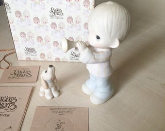 Vintage Precious Moments HE Is My Song Figurine 12394
