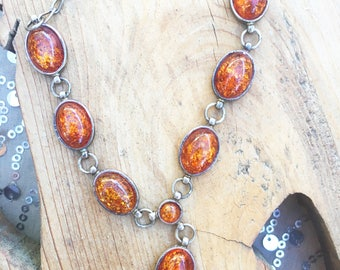 Gorgeous Vintage Amber Necklace