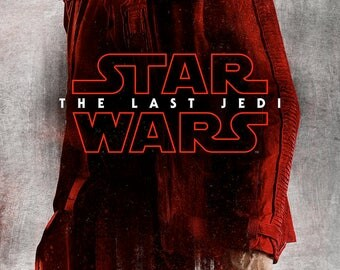 "27x40"" The Last Jedi, Character Poster Finn ,Movie Poster, Hi-Res print, Star Wars, Free Shipping"