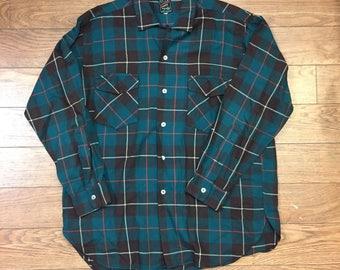 Gerhard Kennedy Flannel Button Down Shirt