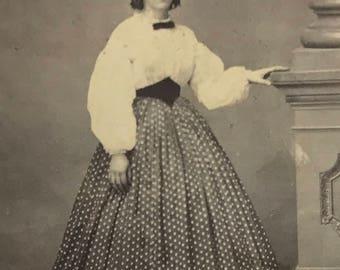 1860's | Womens Portrait | sepia tone