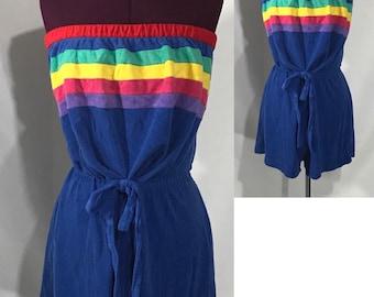 1980's | Winks Lane | Swimsuit coverup
