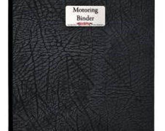 Motoring Binder Leather