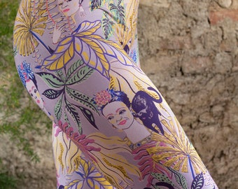 Urban Frida Kahlo, Printed Legging, Mole, Yoga Leggings, legging, activewear, Yoga, Leggings, Yoga Pants, Activewear