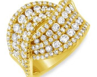 Rings, Statement Rings, Womens Rings, Rings for Women, Modern Rings, Cocktail Rings, Diamond Rings, Rose Gold Ring, White Gold Rings,Jewelry