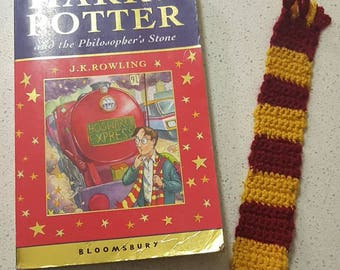 Harry Potter crochet bookmark - Gryffindor - Ravenclaw - Slytherin - Hufflepuff