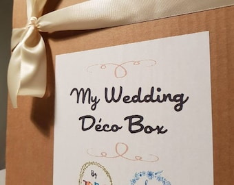 My Wedding Decor box