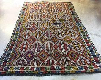 outdoor rug 6x10 rug boho rug custom rug colorful rug hippie