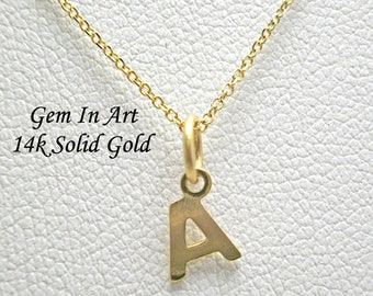 A necklace,Initial Necklace,Gold letter necklace,Tiny Initial,Letter Necklace,Gold initial Necklace,dainty letter,Personalized Initial
