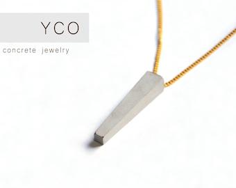 Concrete jewelry, concrete necklace, beton jewelry, concrete jewellery, necklace for woman, industrial jewelry necklace for gift women gift