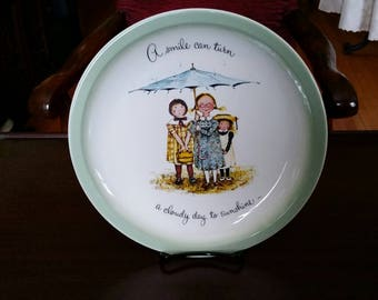Vintage Holly Hobbie Collector's Edition Decorative Plate