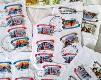 Postage stamps, Russia,  Stamps for crafts, Scrapbooking stamps, Postage stamp art, Stamps, Vintage stamps, Collect stamps