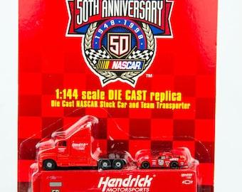 Racing Champions Ricky Craven Hendrick Motorsports Nascar & Transporter 1/144