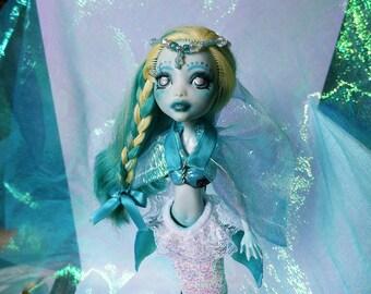 AMATHEIA - Custom ooak mermaid monster high repaint