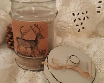 Farmhouse Moonlit Path Jar Candle